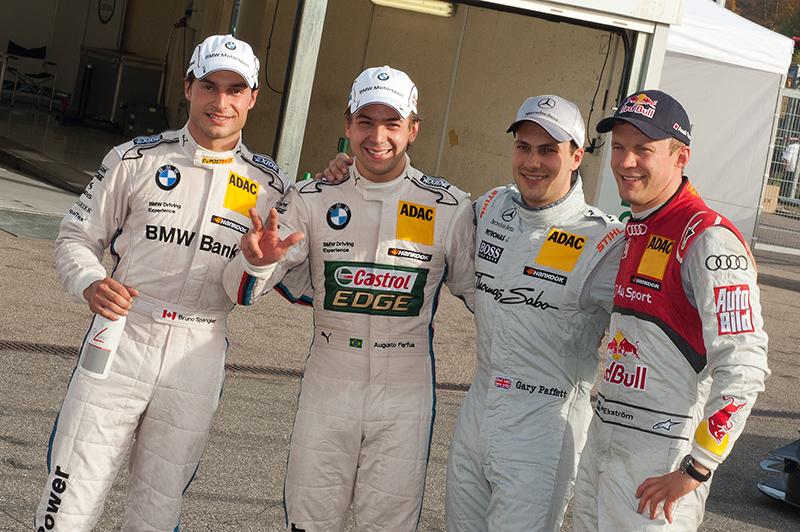 Herzschlagfinale: BMW-Pilot Bruno Spengler DTM-Champion 2012