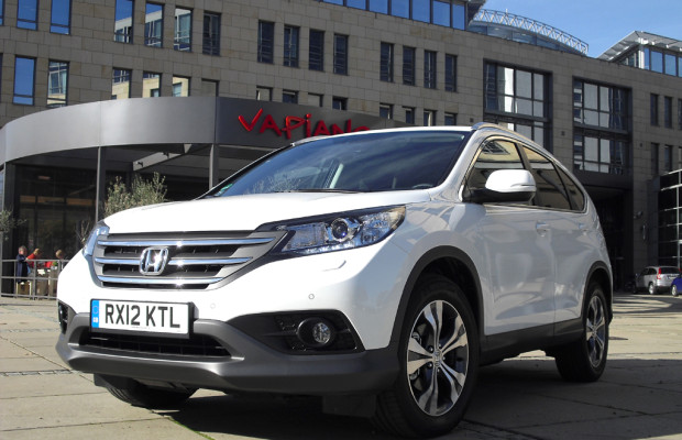 Honda hat Neuauflage des Kompakt-SUV CR-V ab Anfang November bei Händlern