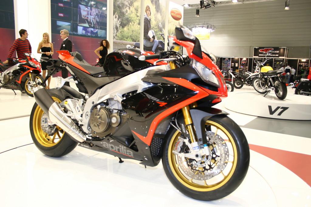 Intermot 2012: Aprilia RSV4 noch näher am Rennsport