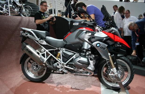Intermot 2012: Die GS bleibt sich treu