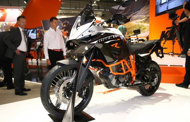 Intermot 2012: KTM kontert mit der 1190 Adventure