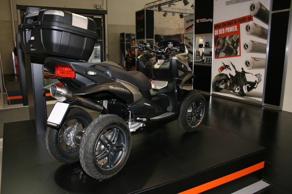 Intermot 2012: Quadro bringt den ersten Vierrad-Roller