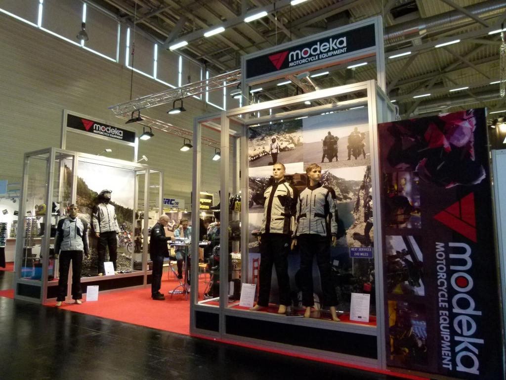 Intermot Köln 2012: Ausstattung, Bekleidung & Zubehör