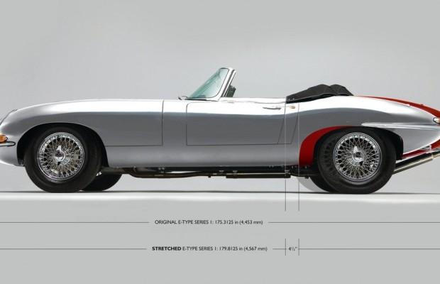 Jaguar E-Type Series 1  um 11,5 Zentimeter verlängert