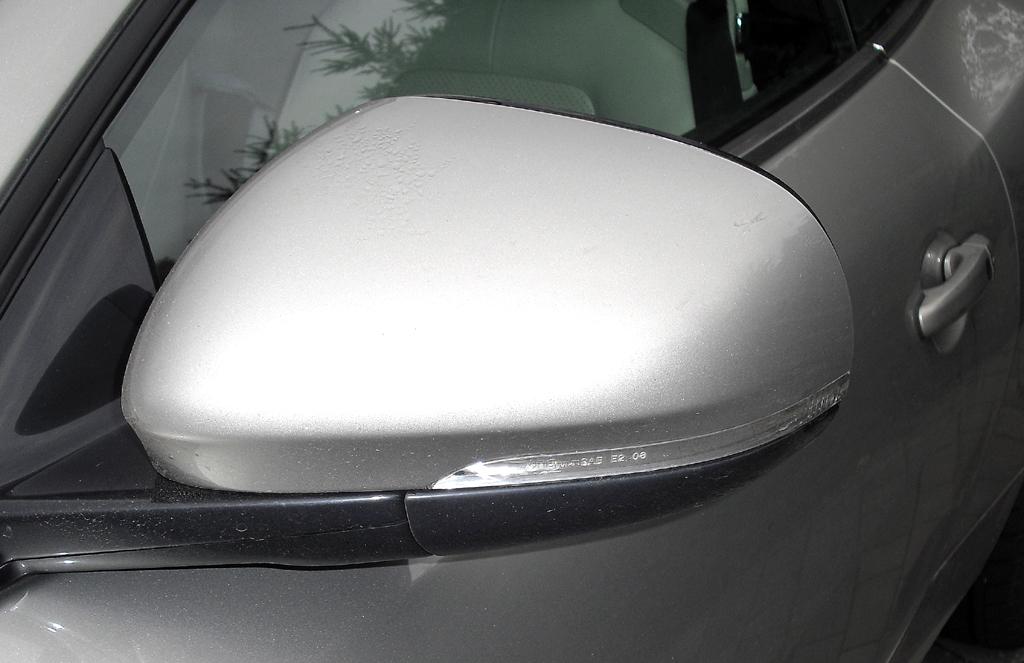 Jaguar XK Cabrio: In die Außenspiegel sind Blinkleisten integriert.