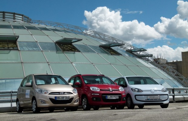 Kleinwagentest - Hyundai i10, Fiat Panda, VW up!