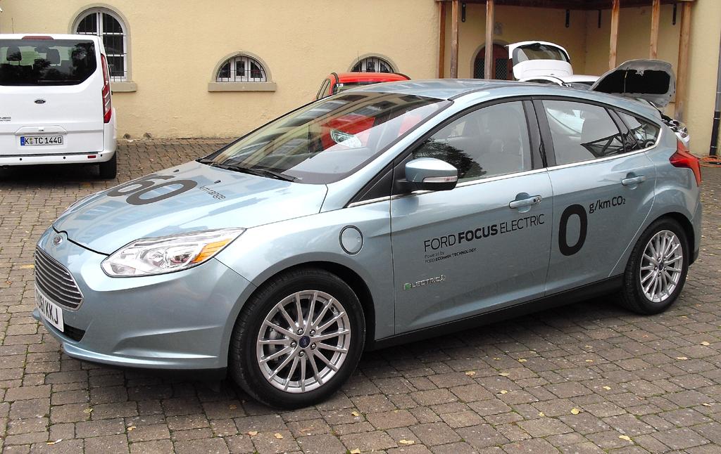 Kommt Mitte 2013: Fords Elektro-Focus mit 160 Kilometer Reichweite.