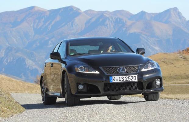 Lexus IS F mit sportlicher Abstimmung