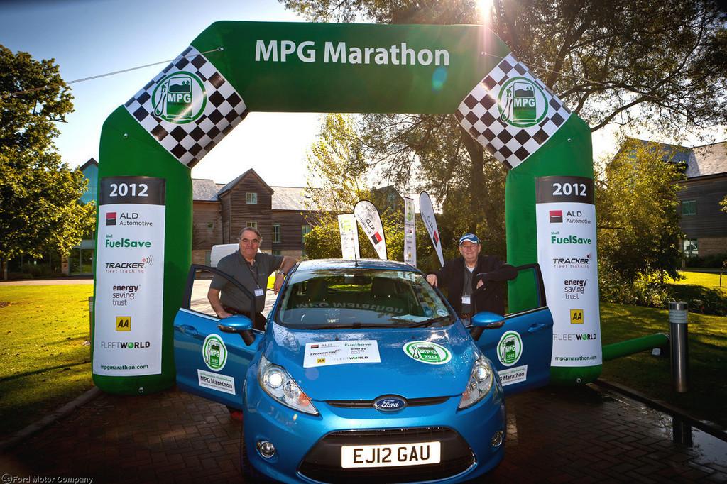 MPG-Marathon: Ford Fiesta kommt mit 2,6 Litern Diesel aus