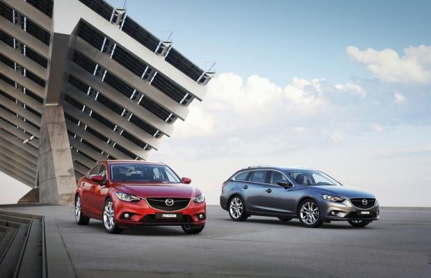 Mazda6 als Limousine und Kombi zum gleichen Preis