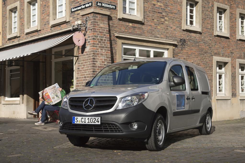 Mercedes will mit dem Citan neue Kunden gewinnen