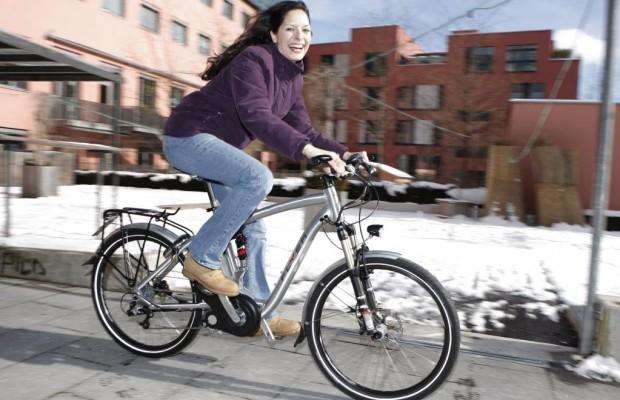 Mit dem E-Bike durch den Winter