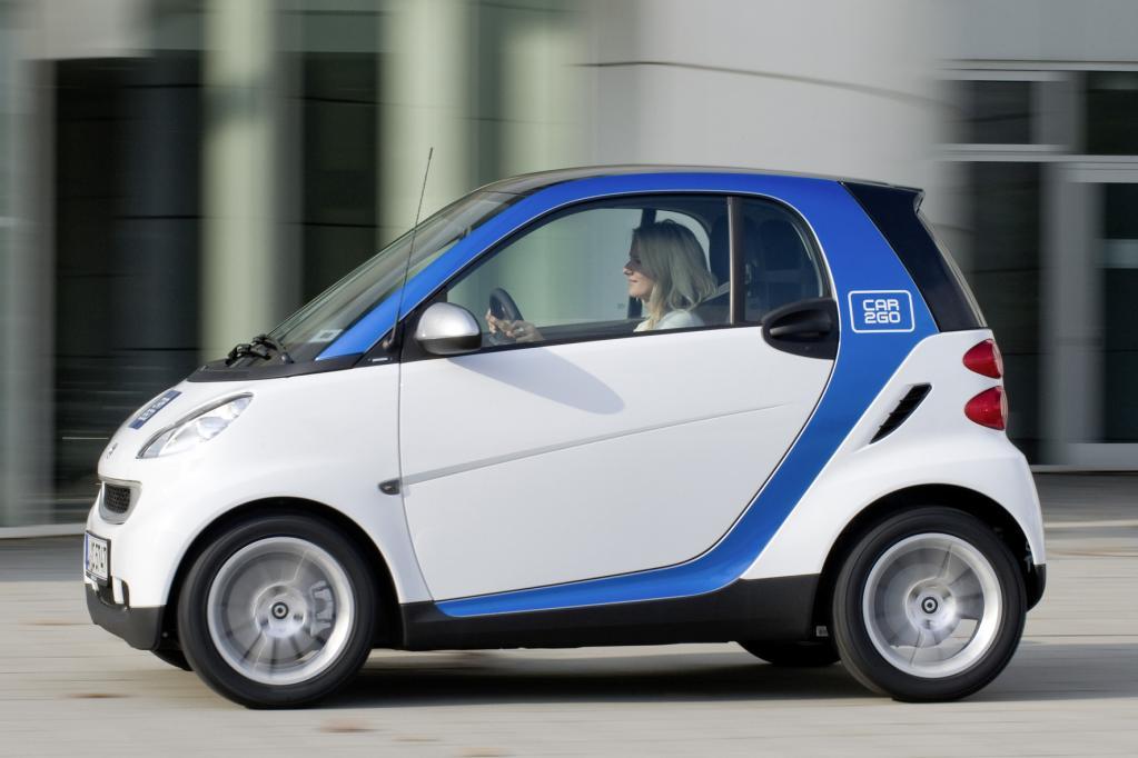 Modernes Automieten: smart add-on spart Zeit und Geld