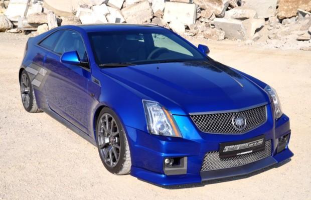 Noch Schneller: Cadillac CTS-V im Geiger-Gewand
