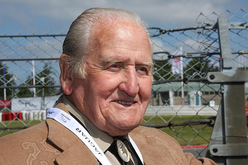 Norman Dewis (92) war von 1952 bis 1986 Chef-Testingenieur bei Jaguar.