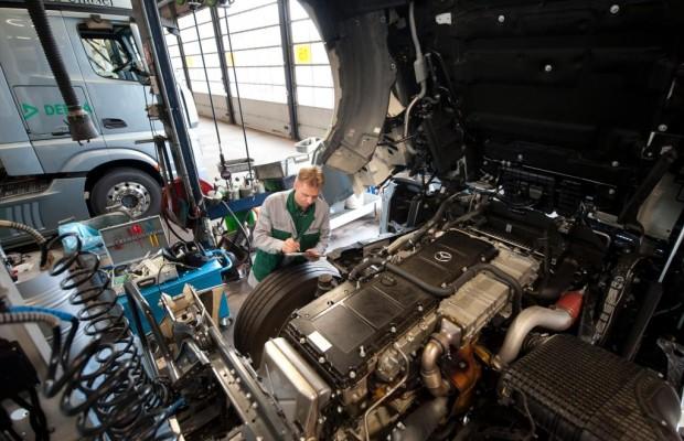 Nutzfahrzeuge: Mehr Original-Tauschteile bei Mercedes-Benz