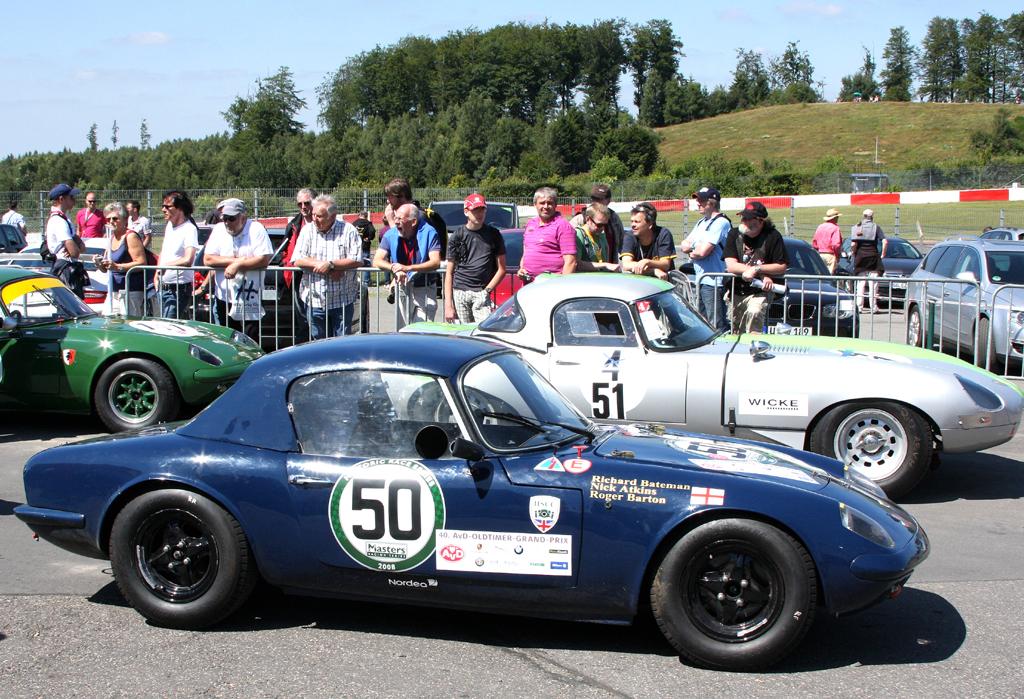 Oldtimer von Jaguar beim AvD-Oldtimer-Grand-Prix zuletzt auf dem Nürburgring