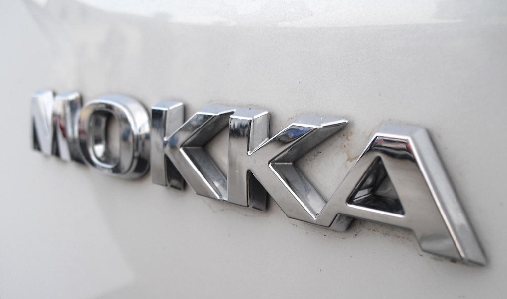 Opel Mokka: Modellschriftzug am Heck.