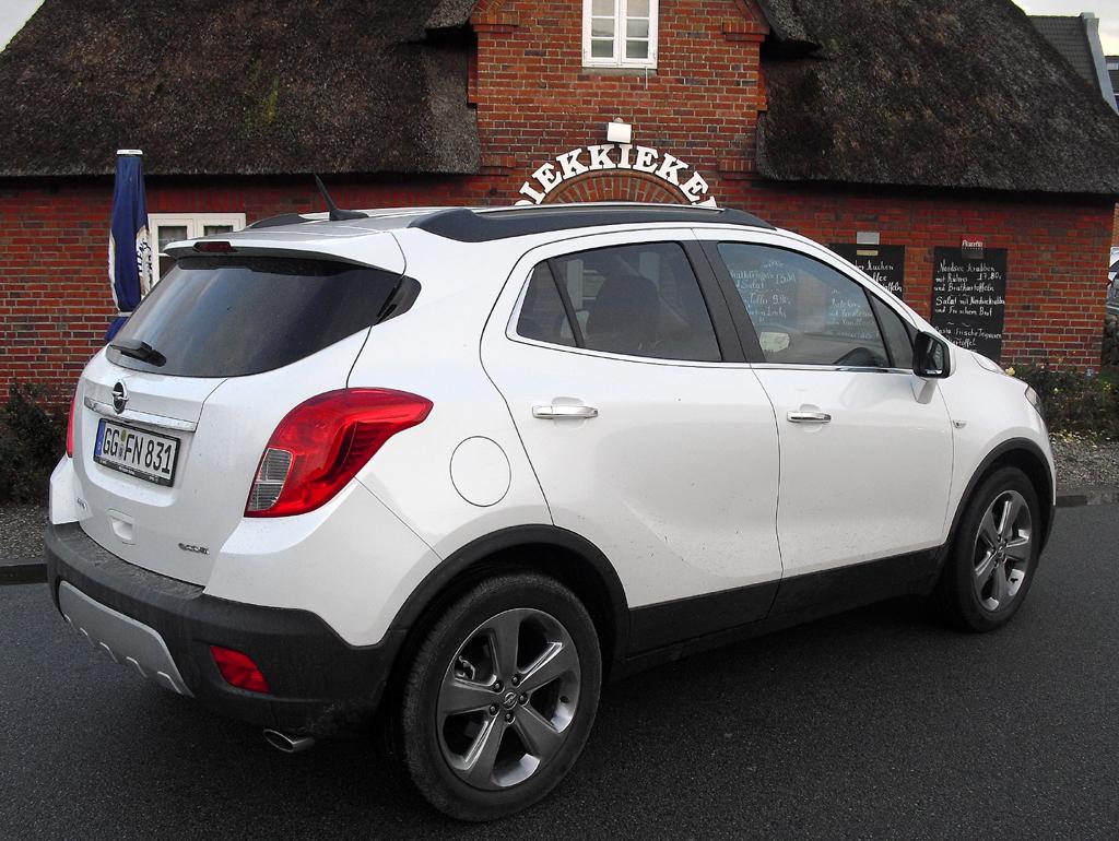 Opel Mokka: So sieht der Klein-SUV von der Seite aus ...