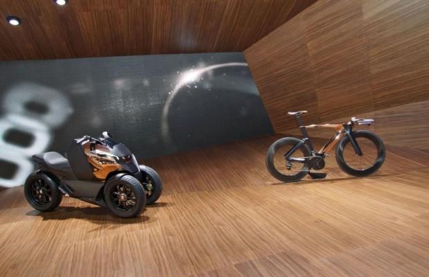 Paris 2012: Peugeot-Studien - Trio mit zwei bis vier Rädern