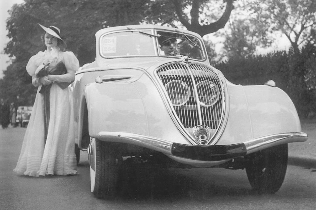 Peugeot 302 Cabriolet ab 1936