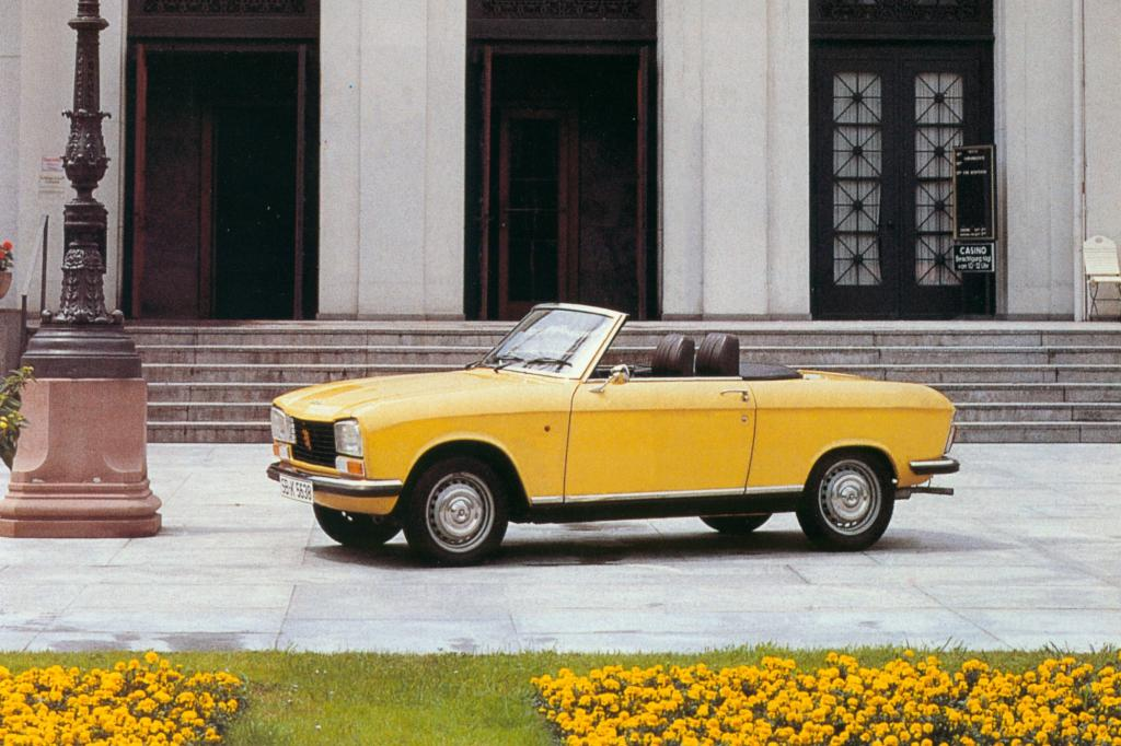 Peugeot 304 Cabriolet ab 1970