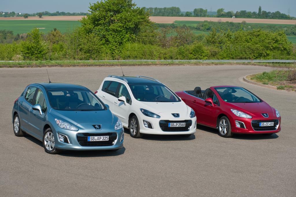 Peugeot 308 Modellfamilie 2012