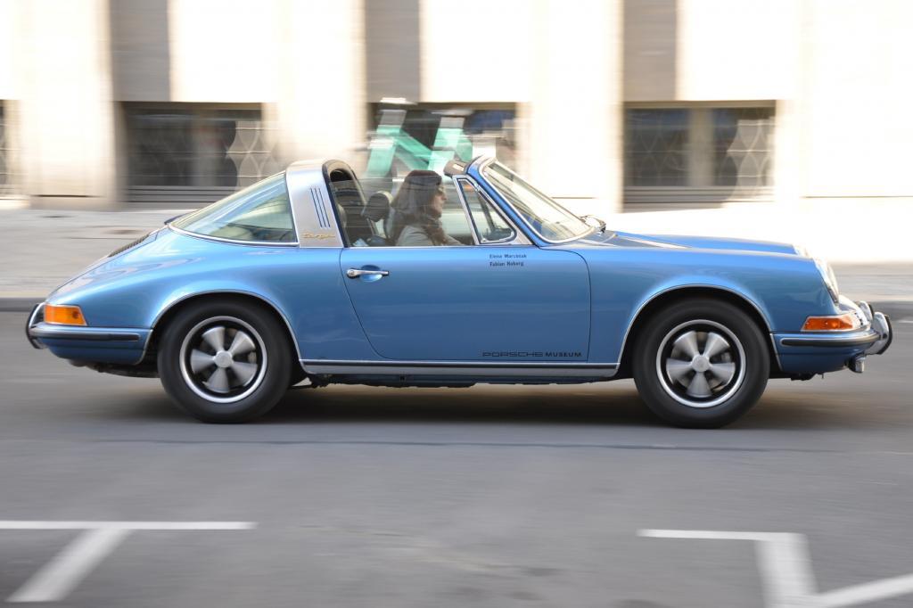 Porsche nannte den Targa anfangs auch Sicherheitscabrio