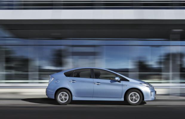 Probefahrten mit dem Toyota Prius Plug-in auf der