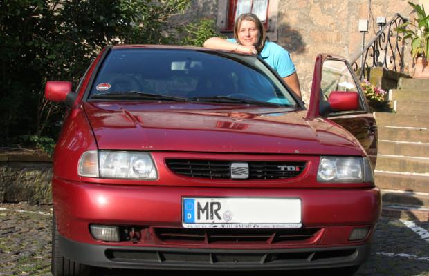 Seat-Fahrerin mit Ibiza und erstem Motor schon über 500 000 Kilometer unterwegs