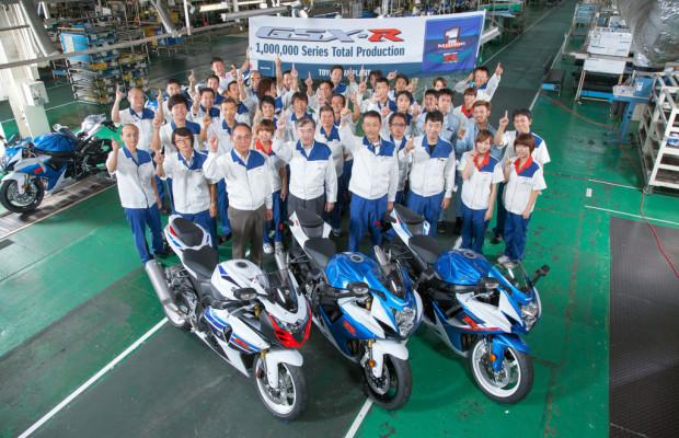 Suzuki GSX-R kommt auf eine Million Einheiten