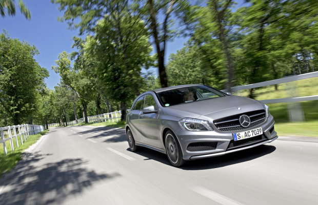 Umweltzertifikat für Mercedes-Benz A-Klasse