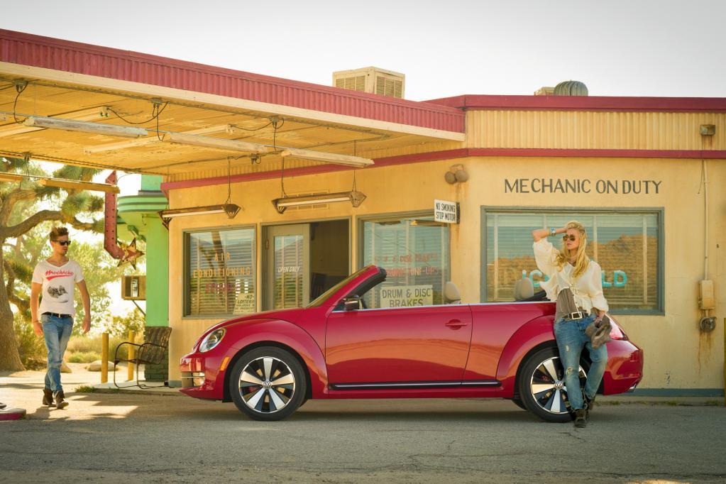 VW Beetle Cabriolet: Zurück zum Käfer
