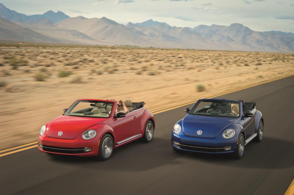 VW nimmt dem Beetle das Dach ab