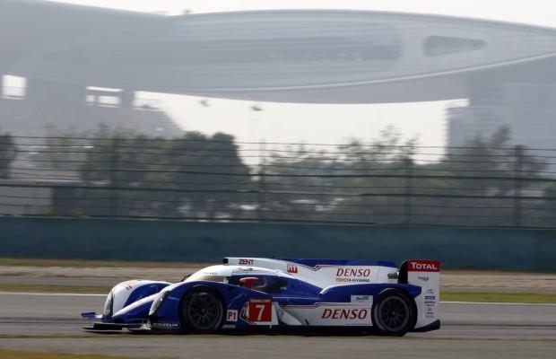 WEC-Rennen: Zweiter Sieg in Folge für den Toyota TS030 Hybrid in China