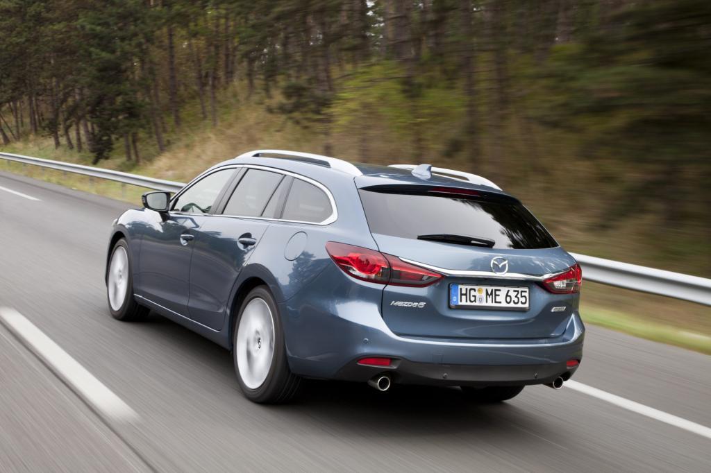 Wie die neuen Modelle bei vergangenen Generationswechseln hat auch der neue Mazda6 deutlich an Gewicht verloren. 1.300 Kilogramm