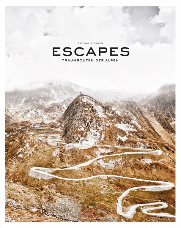 "auto.de-Buchtipp: ""Escapes – Traumrouten  der Alpen"""