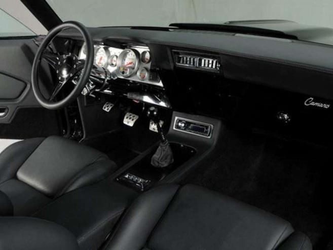 1969er Camaro aufgemotzt - Style trifft auf Power