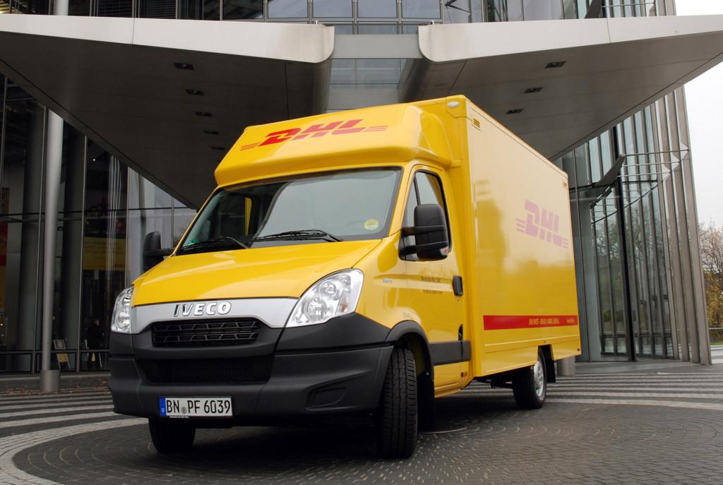 5000 Iveco Daily für DHL