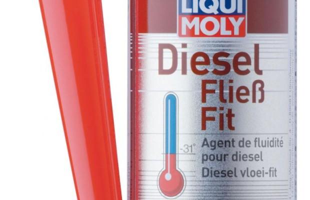 Additiv hält Diesel im Winter flüssig