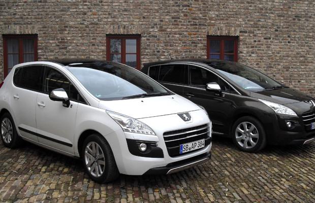 Auch Peugeot kann Allrad, ziemlich intelligent sogar bei Hybrid4 und 4008
