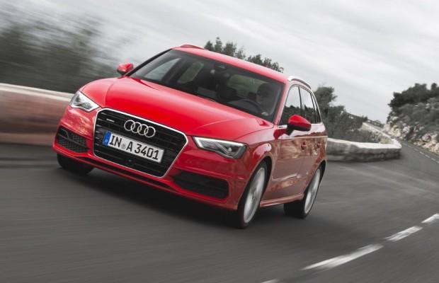 Audi A3 Sportback - Mit drei, gespielt vier