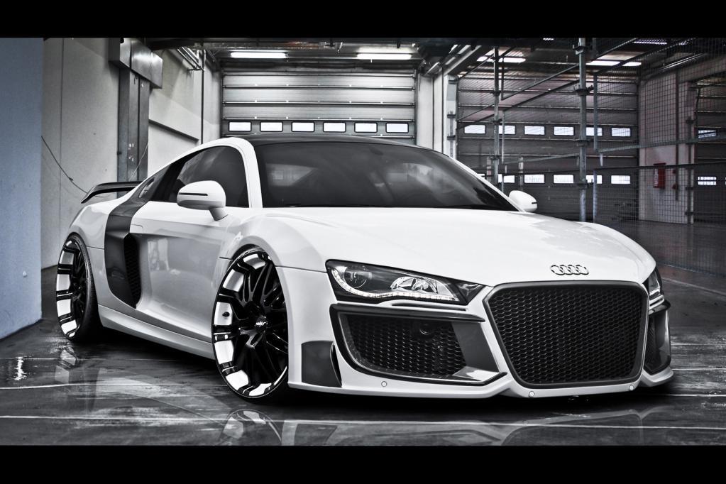 Audi R8 mit aufgepeppter Optik