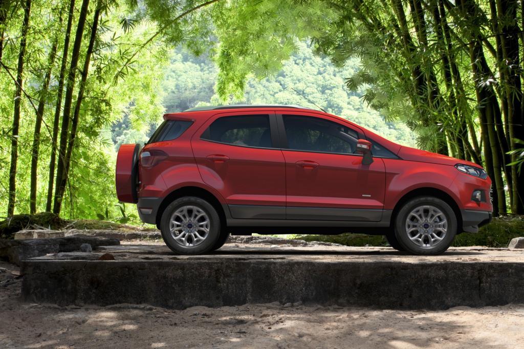 Aus Brasilien kommt der Ford EcoSport