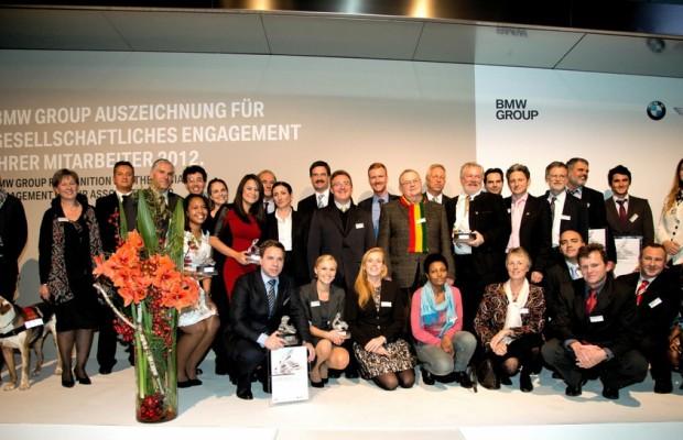 BMW vergibt Preis für gesellschaftliches Engagement