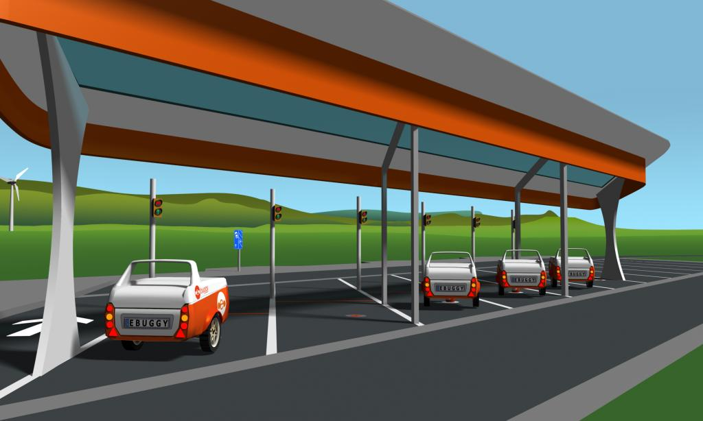 Batterieanhänger soll Reichweite von E-Autos erhöhen