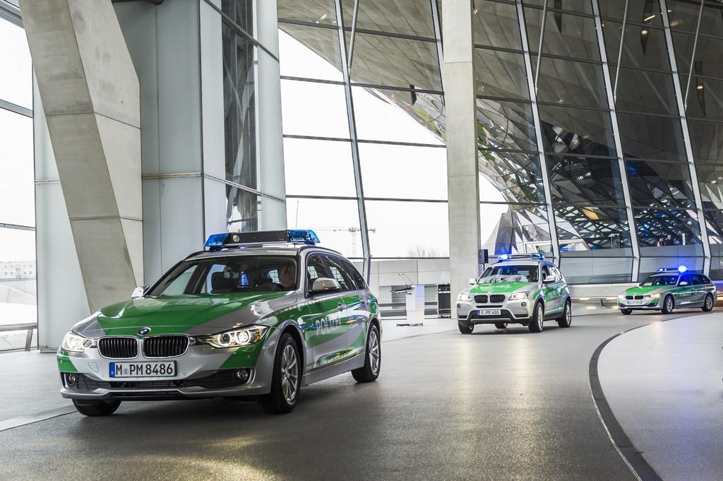 Bayerische Polizei fährt künftig BMW X3