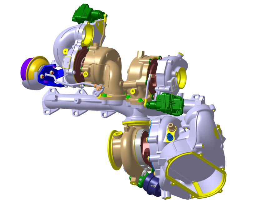 Borg Warner liefert ersten Dreifach-Turbolader