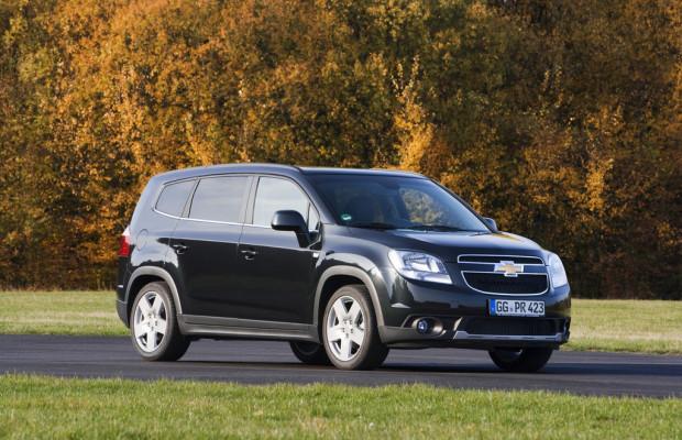 Chevrolet stellt 40 Orlando für Gewinnspiel zur Verfügung