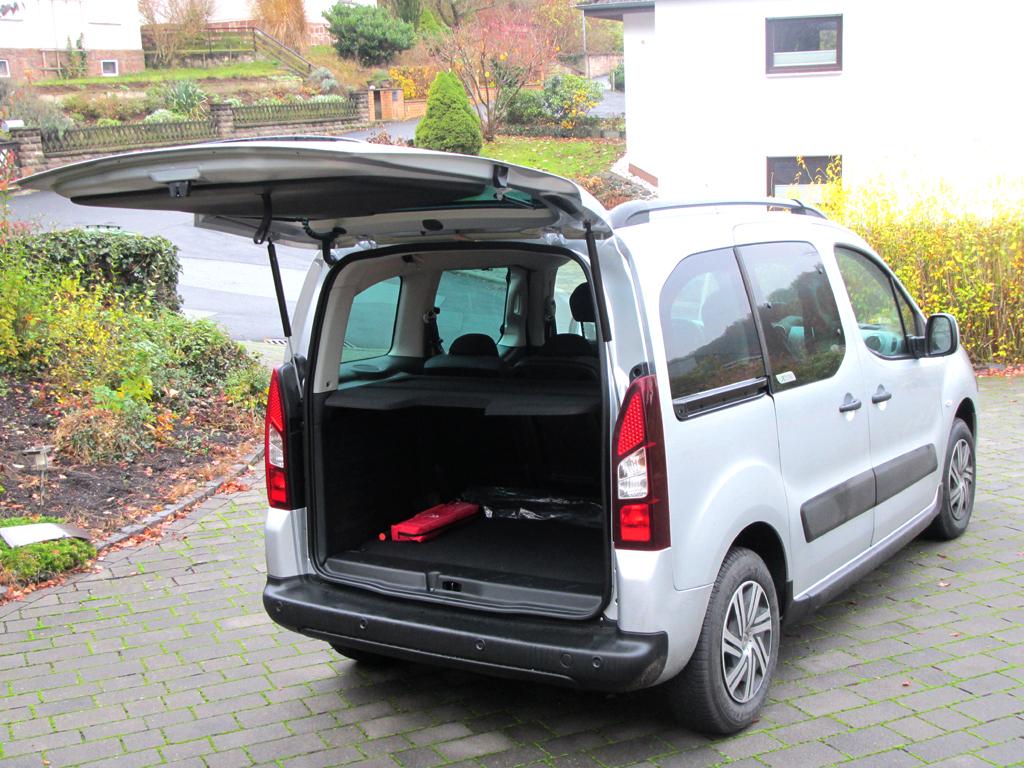 Citroën Berlingo: Ins Gepäckabteil beim Fünfsitzer passen 675 bis 3000 Liter hinein.
